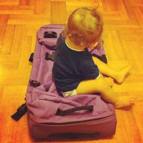 Spedire le valigie quando si viaggia con bambini