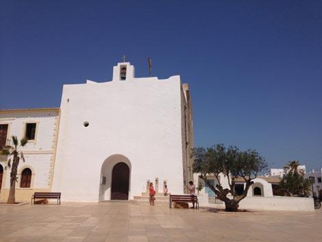 La chiesa bianca di Sant Francesc formentera