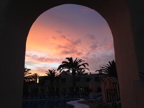 I colori del tramonto al Suite Hotel Atlantis Fuerteventura Resort