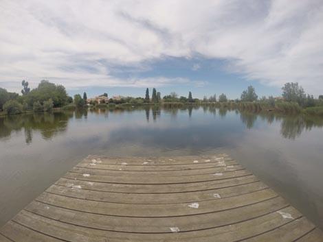 Il lago al Parco di Gelso
