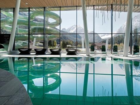 piscina a canazei