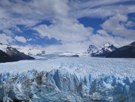 viaggio in moto in solitaria Il ghiacciaio Perito Moreno