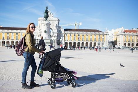 Lisbona con bambini
