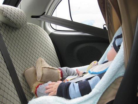 Viaggi in macchina con bambini