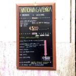 Trattoria Guerra: mangiare a Roma con 5 €