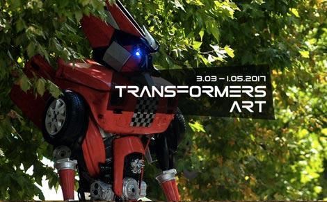 Mostra Transformers Art a Milano