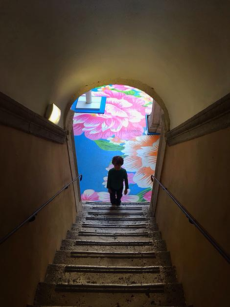 Mostra Enjoy al Chiostro del Bramante - Roma