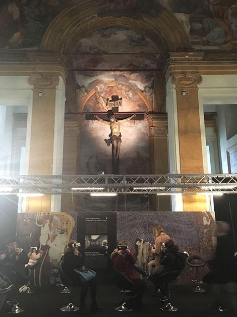 Klimt Experience a Roma con i bambini: la Sala delle Donne