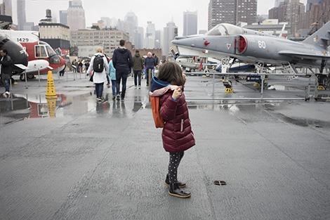 New York con bambini cosa fare: Intrepid Sea-Air-Space Museum