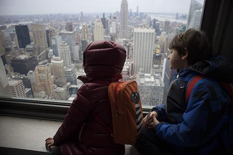 New York con bambini: Top of the Rock