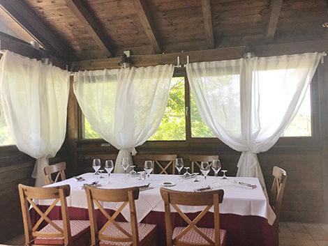 Gita fuori porta da Roma: il ristorante La Baita a Saracinesco