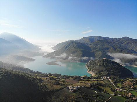 le cascine lago del turano