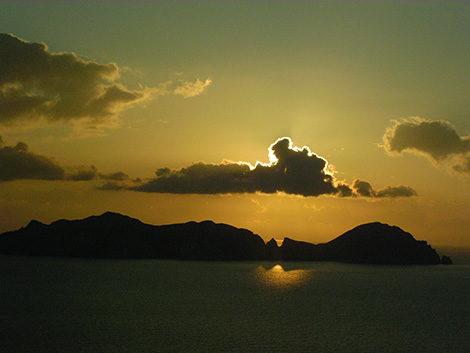 vacanze a ponza tramonti