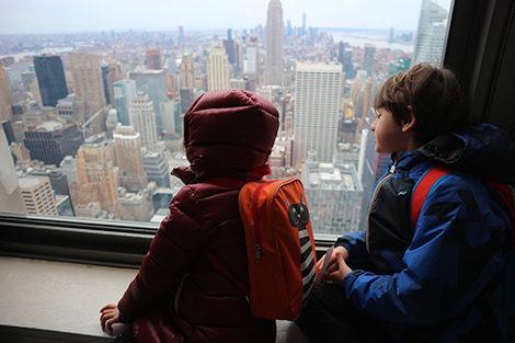 Jet Lag nei bambini, new york