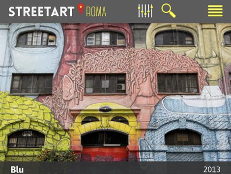 street art Roma app