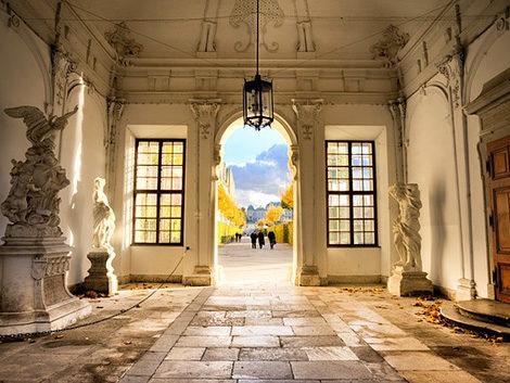 galleria belvedere Vienna