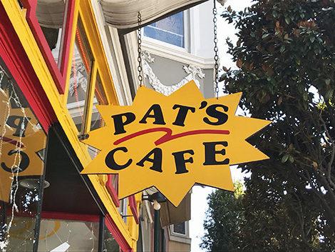 pat's cafe a San Francisco