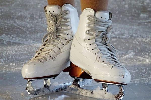 pattinare sul ghiaccio a roma