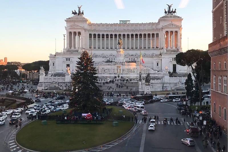 La vista da Palazzo Bonaparte
