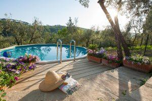 casa di campagna in toscana con piscina