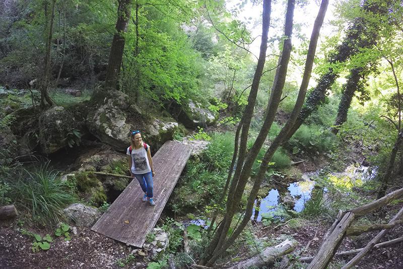 Cascata delle Vellocchie