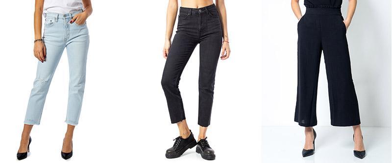 Jeans e Pantaloni da mettere in valigia